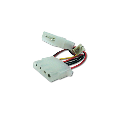 Digitus Internal power supply cable 0.30m, IDE - IDE 3pin cooler connector - Meerkleurig