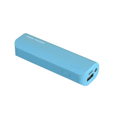 RealPower PB-2600 Powerbank - Blauw