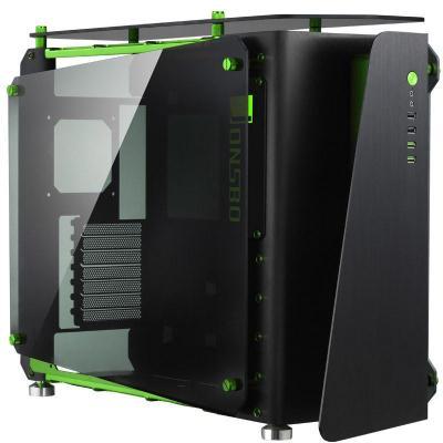 Cooltek MOD1 Behuizing - Zwart, Groen