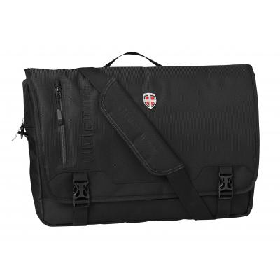 Ellehammer tas: Bergen Business - Messenger Bag - 15.6 inch / Zwart