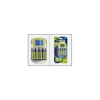 Varta oplader: Power Play LCD Charger + 4xAA Accu 2500mAh