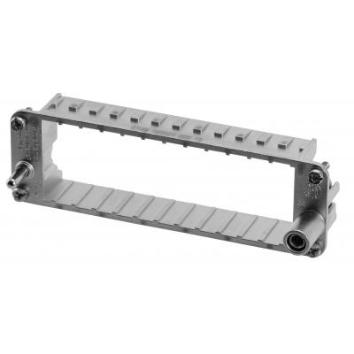 Amphenol Frame for 7-socket modules, Size E24 Multipolaire connector-behuizing - Metallic