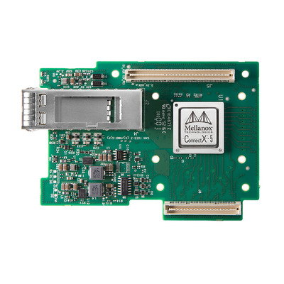 Mellanox Technologies ConnectX-5 VPI Netwerkkaart - Zwart, Groen, Zilver, Wit