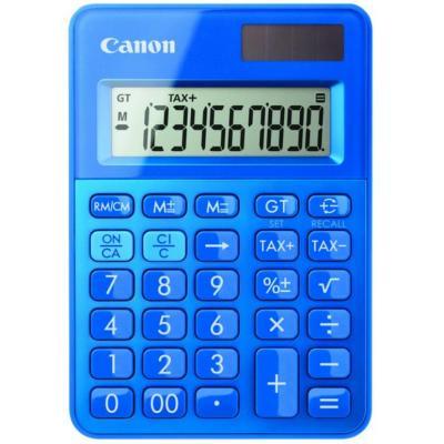 Canon calculator: LS-100K POS-Box / K-serie mini - Blauw, Groen, Oranje, Paars