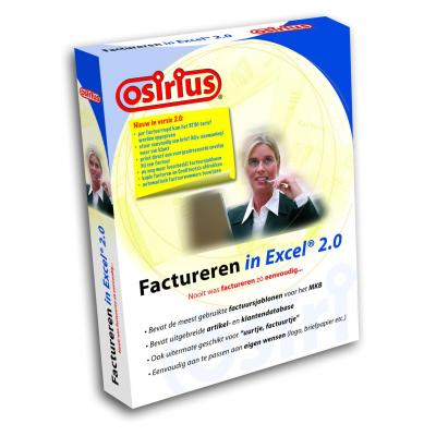 Osirius software suite: Factureren in Excel 2.0