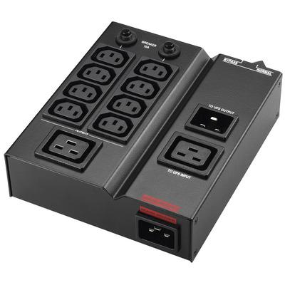 PowerWalker MBS/PDU IEC 1-3kVA Energiedistributie - Zwart