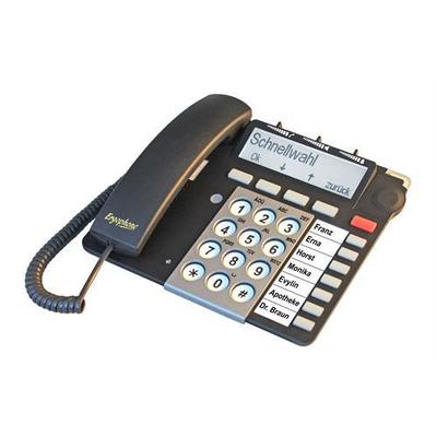 Tiptel S 510 IP Dect telefoon - Zwart