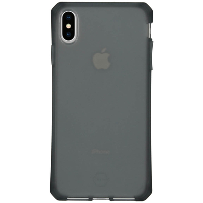 ITSKINS Spectrum Frost Backcover iPhone Xs Max - Zwart - Zwart / Black Mobile phone case