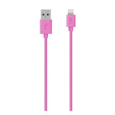 Belkin USB kabel: MIXIT↑ Lightning - USB - Roze