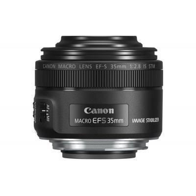 Canon camera lens: EF-S 35mm f/2.8 Macro IS STM - Zwart
