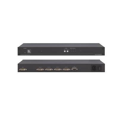 Kramer Electronics 1:4 DVI Video-lijnaccessoire - Zwart