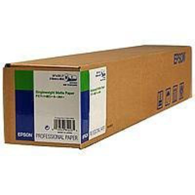 """Epson grootformaat media: Singleweight Matte Paper Roll, 24"""" x 40 m, 120g/m²"""