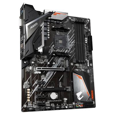 Gigabyte ATX, AMD A520 chipset, Socket AM4, 4xDDR4 DIMM slots, 7.1ch audio, Gigabit LAN Moederbord
