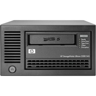 Hewlett packard enterprise tape drive: StorageWorks LTO5 Ultrium 3280 SAS - Zwart