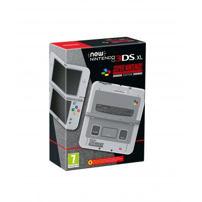 Nintendo spelcomputer: New 3DS XL, Console (SNES Edition)