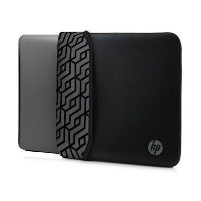 "HP 15.6"" Neoprene Reversible Sleeve Laptoptas - Grijs"