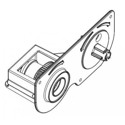 Datamax O'Neil (2/PK) Clutch Assembly, Ribbon Rewind for H-6210 / H-6308 / H-6212X / H-6310X / H-8308X .....