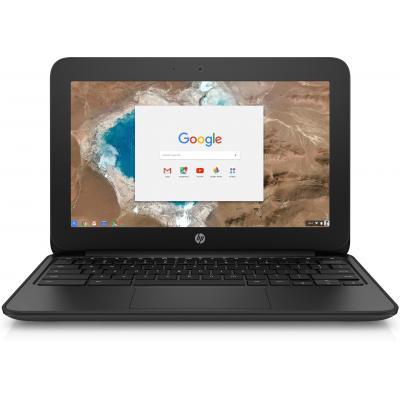 Hp laptop: Chromebook 11 G5 EE - Zwart