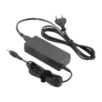Dynabook 65W, 19V, 2-pins, Zwart Netvoeding