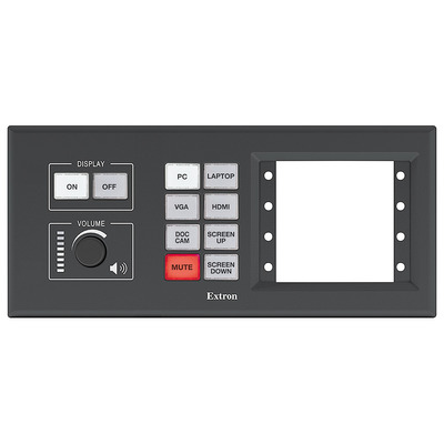 Extron MLC Plus 200 AAP Drukknop-panel - Wit, Zwart