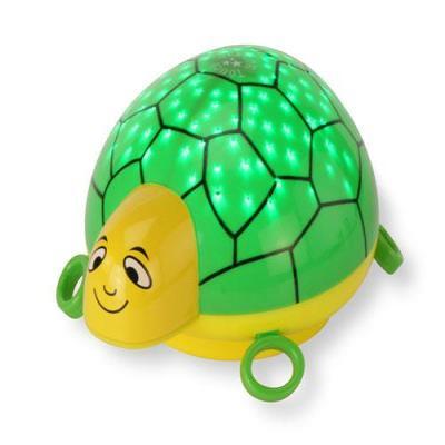 Ansmann zaklantaarn: Lullaby-StarLight Turtle - Groen, Geel
