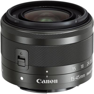 Canon camera lens: EF-M 15-45mm f/3.5-6.3 IS STM - Grafiet