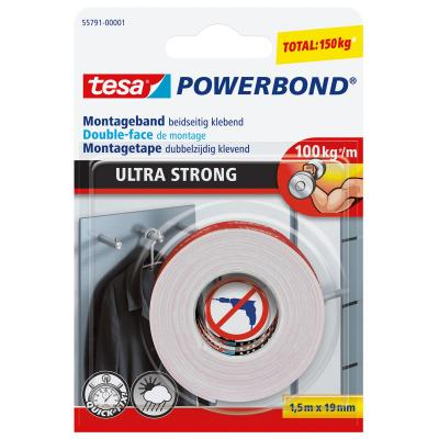 Tesa : Powerbond Ultra Strong - Wit