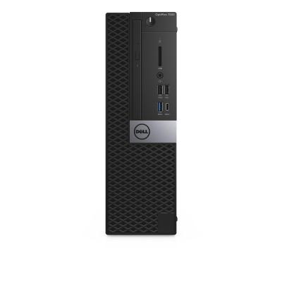 Dell pc: OptiPlex OptiPlex 7050 - Core i5 - 8 GB RAM - 256 GB - Zwart