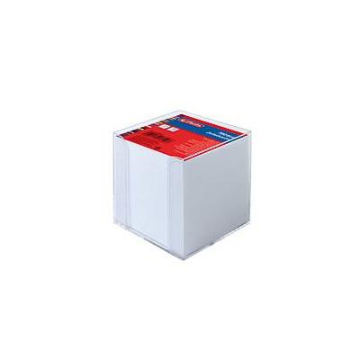 Herlitz note cube box, 9 x 9 x 9 tr Notitiepapier dispenser - Wit