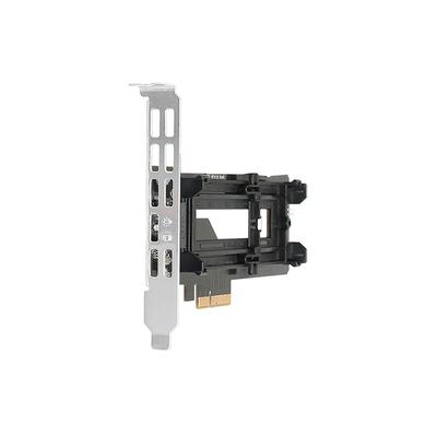 Icy Dock MB987M2P-B Interfaceadapter - Zwart,Zilver