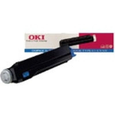 OKI cartridge: Black Toner Cartridge forpage 8c/8cPlus - Zwart