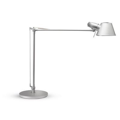 Maul tafellamp: E27, 50 Hz, 230 V, 15 W, 2700 K, 70 lm/W, 880 lm, 30 s, 10000 h - Zilver