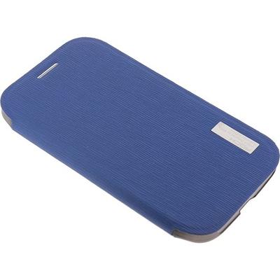 ROCK Elegant Side Flip Case Lake Blue for Samsung Galaxy Grand I9080 Mobile phone case - Blauw