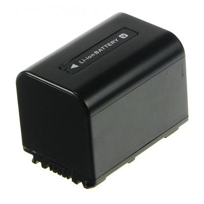 2-Power Camcorder Battery 7.2v 1620mAh - Zwart