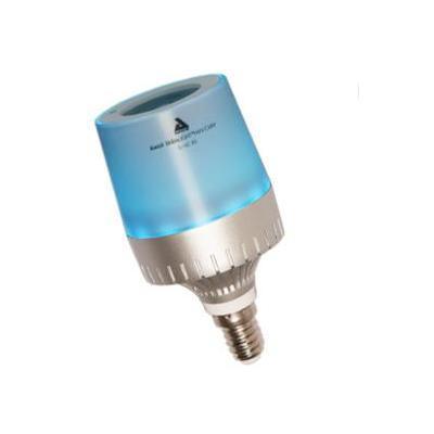 Awox striim personal wireless lighting: Bluetooth, LED, 110-240V, E26/E14, 12 W, 200Hz-20KHz 3 W, 59mm, 180 g - Blauw