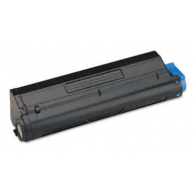 OKI cartridge: MB480 Black Toner Cartridge - Zwart