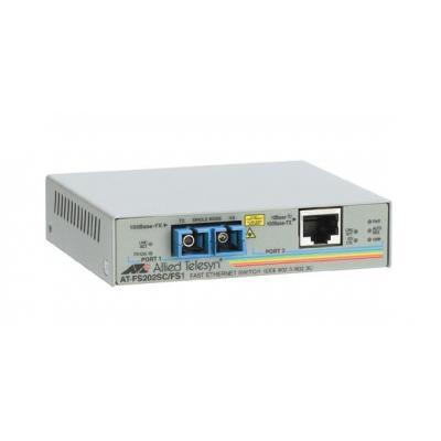 Allied telesis media converter: AT-FS202