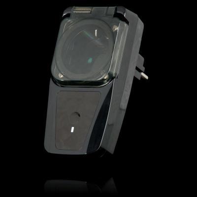 Klikaanklikuit wandcontactdoos: 6 geheugenadressen, 230V/50Hz - Zwart