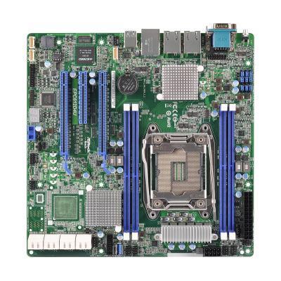 Asrock server/werkstation moederbord: Socket LGA 2011 R3, Intel C612, 2 x PCIe 3.0 x16, 1 x PCIe 3.0 x 8, 8 x SATA3 .....
