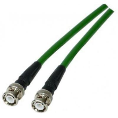Microconnect MC-KX6VC10 Coax kabel - Groen