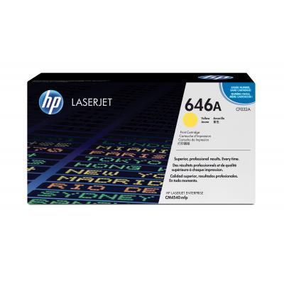 HP CF032A cartridge