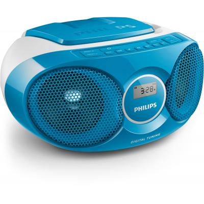 Philips CD-radio: CD-soundmachine - Blauw, Grijs