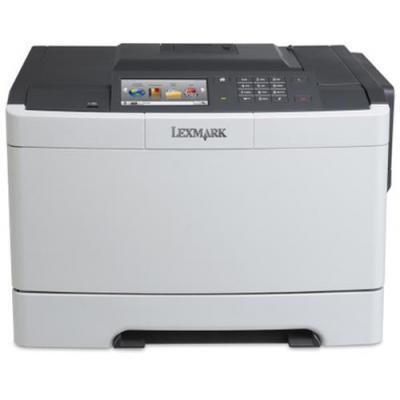 Lexmark laserprinter: CS510de - Zwart, Cyaan, Magenta, Geel