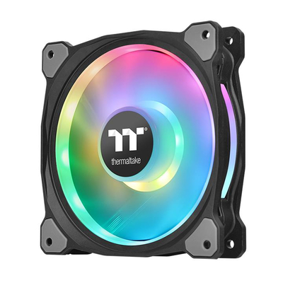 Thermaltake Riing Duo 12 RGB Premium Edition Hardware koeling - Zwart