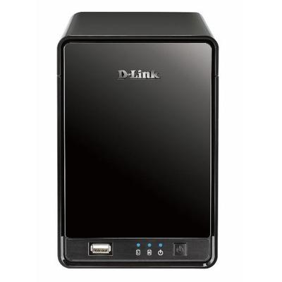 D-Link DNR-322L, mydlink Network Video Recorder Video server - Zwart