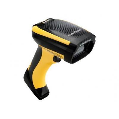 Datalogic barcode scanner: PowerScan D9530 - Zwart, Geel
