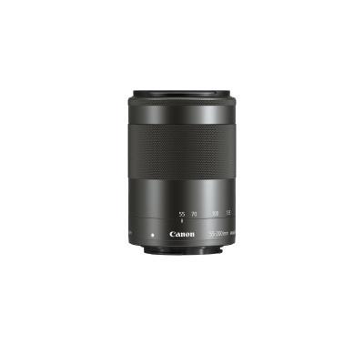 Canon camera lens: EF-M 55-200mm f/4.5-6.3 IS STM - Zwart