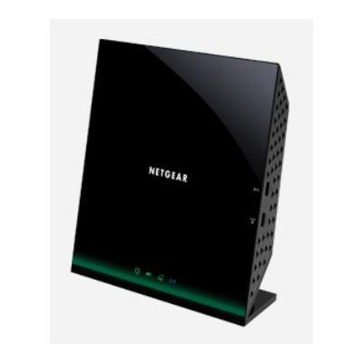 Netgear wireless router: D6100 - Zwart