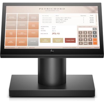 HP ElitePOS G1 retailsysteemmodel 141 POS terminal - Zwart