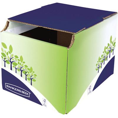 Fellowes Recycling Bin, 248x314x235mm Vuilnisbak - Blauw,Groen,Wit